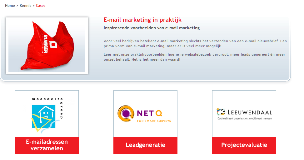 E mail marketing in de praktijk   Blinker