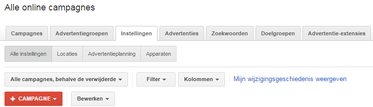 Google Shopping opzetten in Adwords 1