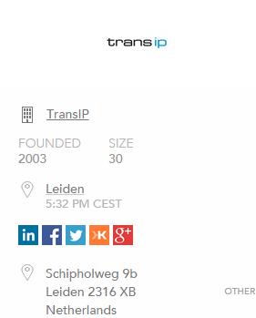 Data verzamelen van TransIP met FullContact