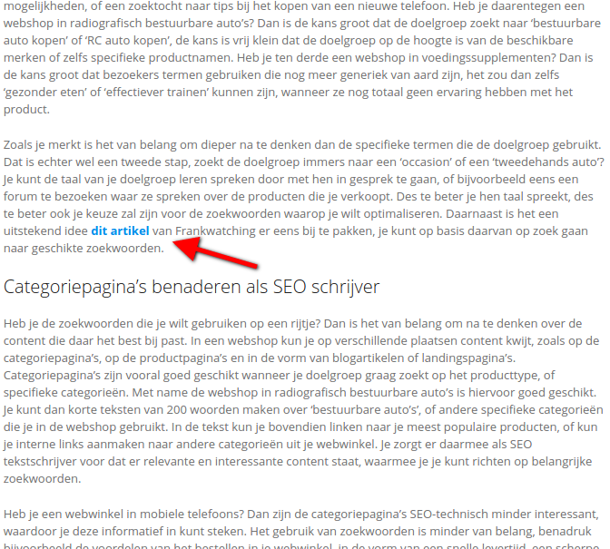Concurrentieonderzoek SEO kijken naar de backlinks