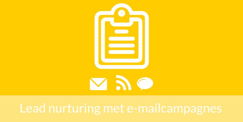 7 Manieren voor lead nurturing met e-mailmarketing