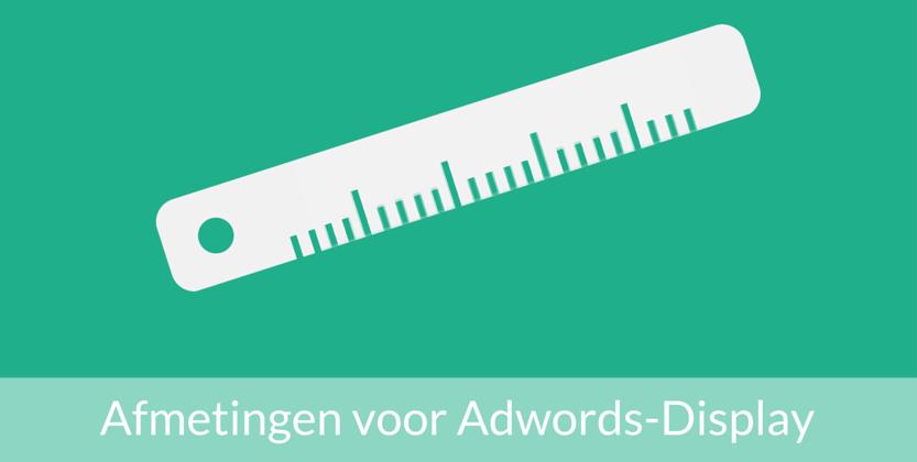 De juiste formaten voor Google Adwords gebruiken