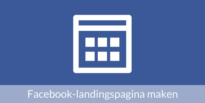 Facebook landingspagina maken met tabbladen