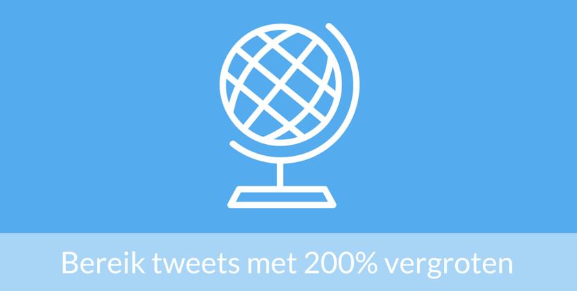 5 Bewezen manieren om het bereik van tweets met 200% te vergroten